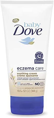 Baby Dove Soothing Cream To Soothe Delicate Baby Skin Eczema Care No Artificial Perfume or Color product image