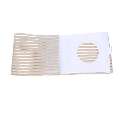 Supvox Stomagürtel Stoma Bandage Nabelbruchbandage Nabelbruchband Bauch Stützgürtel für Bauchnabel zur Schmerzlinderung nach Kolostomie Ileostomie Hernie