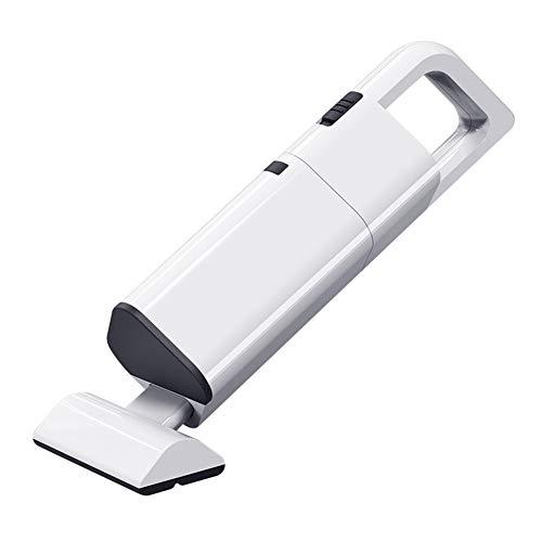 Aspirador De Coche, 120 W 12 V Húmedo/Seco De Doble Uso Potente Aspiradora De Coche para El Hogar Herramienta De Limpieza Blanco