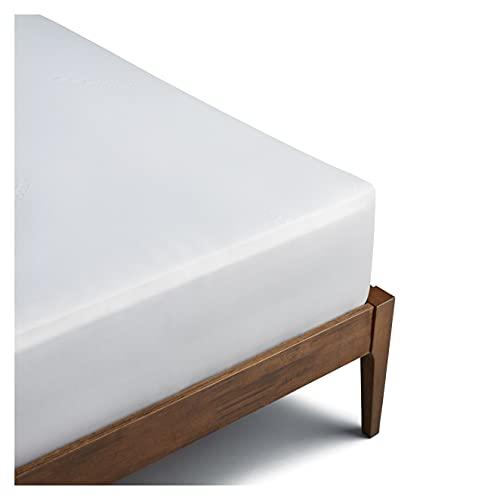 Coop Home Goods Mattress Protector Cover - Waterproof, Ultra Soft Breathable Bed Mattress Topper - Silent Mattress Pad Encasement - Oeko-TEX Certified Lulltra Fabric - Full