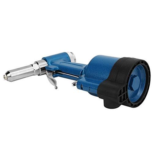 Ufolet Pistola Remachadora, fácil inyección de Aceite, Gran Fuerza de tracción, Pistola Remachadora ciega neumática, Duradera para decoración, contenedor, fabricación de automóviles, aparatos