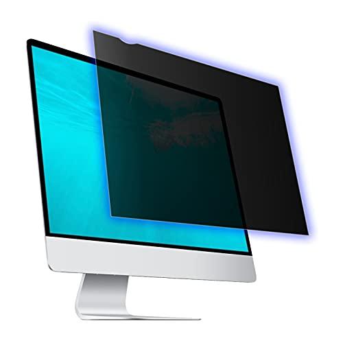 27 Inch Computer Privacy Screen Filter for Widescreen Computer Monitor, Anti Blue Light Screen Protector, Anti-Scratch Protector Film for Data confidentiality - 16:9 Aspect Ratio