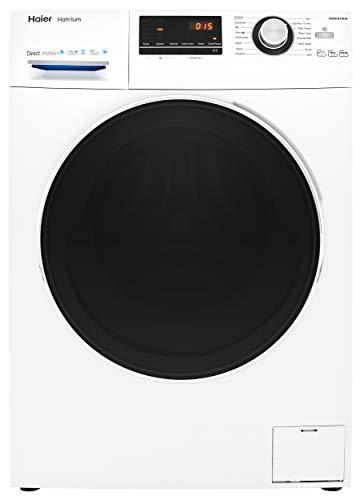 Haier HW80-B14636 Freestanding Washing Machine, LED Display, 1400 RPM, 8kg...