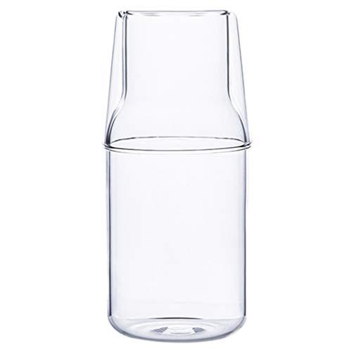 Bodum Kaffee- Teegläser Milch Tasse frühstück Tasse saft Trinken Tasse teekanne Tasse Tee Tasse Glas EIN Topf Tasse Set (Color : Clear, Size : 5.2 * 15.2cm)