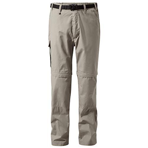 Craghoppers Kiwi Conv Trouser Pantaloni da Escursionismo, Spiaggia, 36W Short Uomo