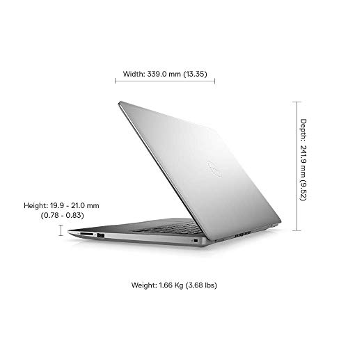 Dell Inspiron 3493 14-inch FHD Thin & Light Laptop (10th Gen i3-1005G1/4GB/256GB SSD/Win 10 + MS Office/Integrated Graphics/Platinum Silver) D560194WIN9SE