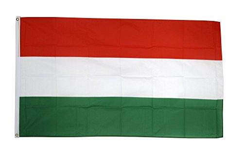 Fahne / Flagge Ungarn ungarische Fahne + gratis Sticker, Flaggenfritze®