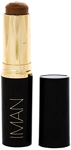 IMAN Cosmetics Second to None Stick Foundation, Dark Skin, Earth 4