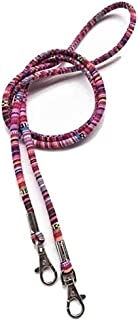 Colorful Canvas and Beads Fashionable Lanyard Hanger - TALABETY