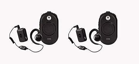 2 Pack of Motorola CLP1060 Business Two-Way Radio with Bluetooth 6 Channel 1 Watt