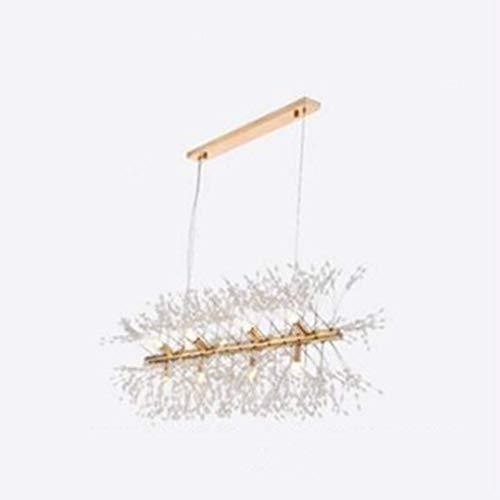 Vintage lampen Kristall-Kronleuchter Deckenleuchte Dandelion Kronleuchter Deckenleuchte-Lampen-Anhänger Hauptdekor Licht Esszimmer Pendelleuchte Wddwarmhome (Size : 12heads)