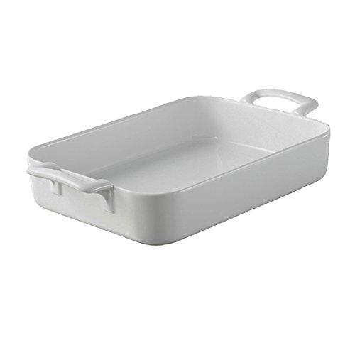 Revol BC0219 Rectangular Baking Dish, 0.78 QT, White