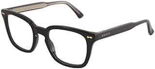 Gucci GG0184O Plastic Square Eyeglasses Size 50 mm