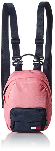 Tommy Hilfiger Unisex Kid's CORE Backpack, Exotic Pink, One Size