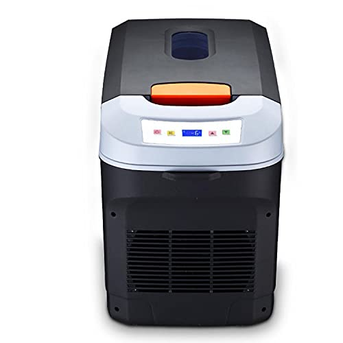 DDH Refrigerador portátil de Gran Capacidad 25L, Mini refrigerador portátil termoeléctrico 12V / 24V / 220V camión frigorífico congelador congelador congelador-Brown