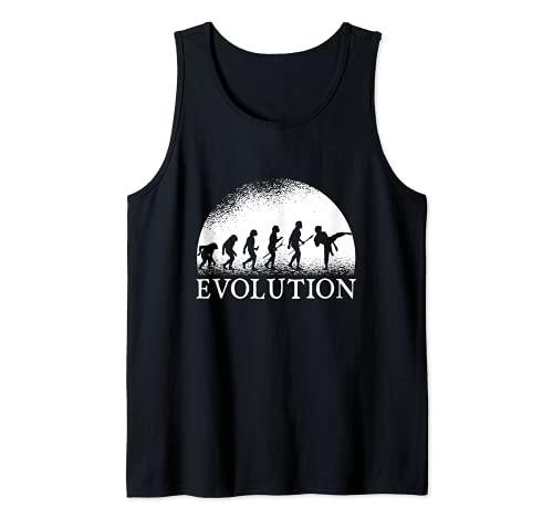 Evolución del Karate - Evolución del Karate Camiseta sin Mangas