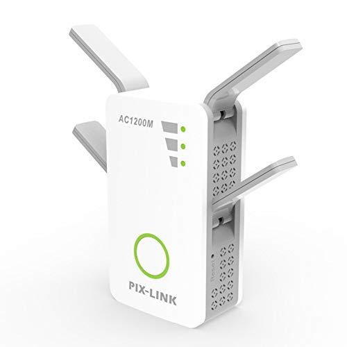 Repetidor WiFi, AC 1200Mbps Extensor WiFi, Amplificador WiFi...