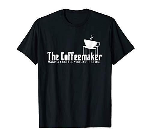 Barista Shirt Funny Coffeemaker Gift Best Barista T Shirt