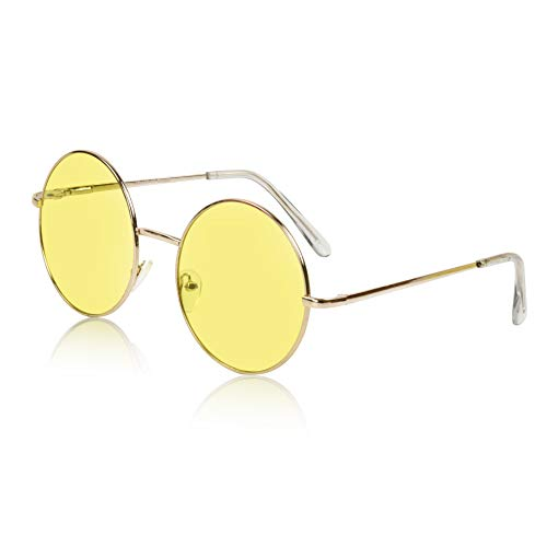 Best round sunglasses yellow lens for 2020