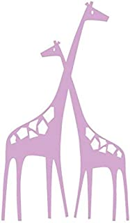 N.SunForest Baby Zoo Mom and Baby Giraffe Vinyl Wall Decal Home Decor