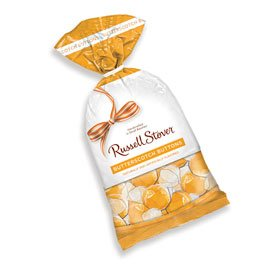 Russell Stover Butterscotch Buttons Hard Candies, 12 Ounce Bag, Traditional Rich Butterscotch Hard Candy Bag, Individually Wrapped