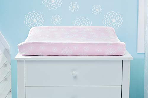 Koala Baby Pink Floral Springtime Slumber Crib Bedding Set and Accessories (Changing pad Cover)