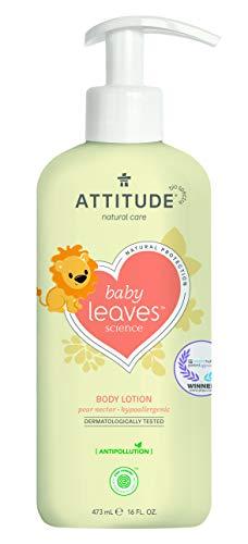 ATTITUDE Baby Leaves natürliche Körperlotion - Birnennektar (1 x 473 ml)