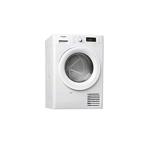 Sèche linge Condensation Whirlpool FTCM118XB1FR - Condensation - Chargement Frontal - Départ différé - Indicateur temps restant -...