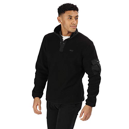Regatta Heren Cormac Knoophals High Pile Borg Mode Fleece