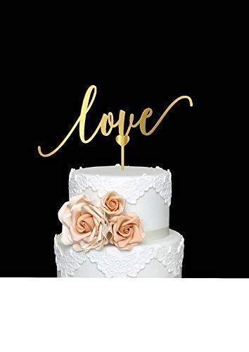 Svitlanaskylove Cake Topper Wedding Wood Cake Decor Engagement Party Elegance Script Bridal Shower Decorations Gorgeous Precious Moments Dailymail