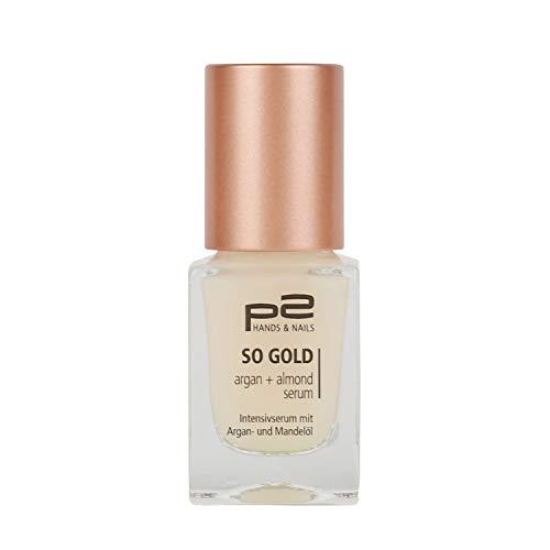 p2 cosmetics Nagelpflege Nail Serum 177796 So Gold Argan Almond Serum