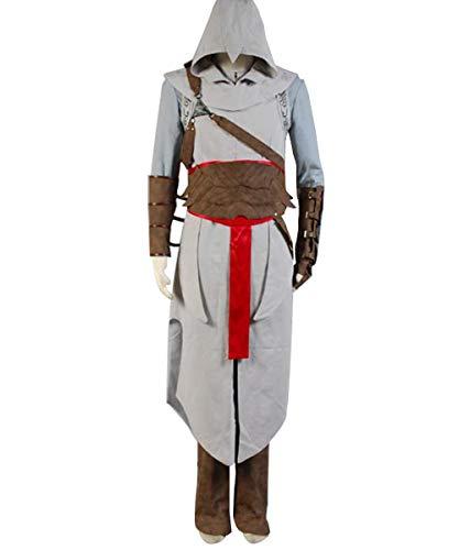 Huiyemy Assassin's Creed Revelation Altair Cosplay Kostüm L