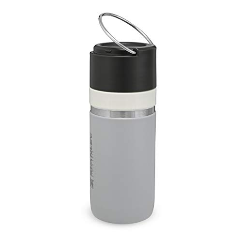 Stanley Ceramivac GO Trinkflasche, Keramikbeschichteter Edelstahl, Granite, 0.47 L