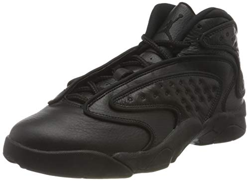 Nike Herren WMNS AIR Jordan OG Basketballschuh, Black Black Black, 46 EU