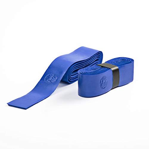 two46 | Rutschfestes selbstklebendes Griffband passend zum Frescobol-Set, extra starker Halt am Schläger, auch geeignet für alle andere Schlägersportarten, blau
