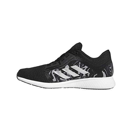 adidas Women's Edge Lux Running Shoe, Black/Silver Metallic, 8.5