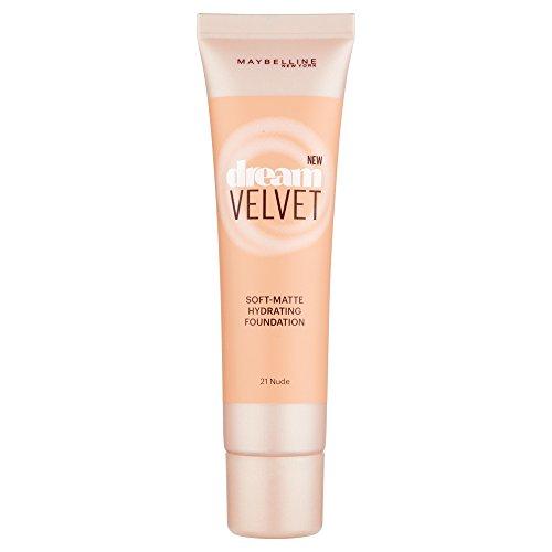 Maybelline Dream Velvet Soft-Matte Hydrating Foundation (21 Nude) 30 ml