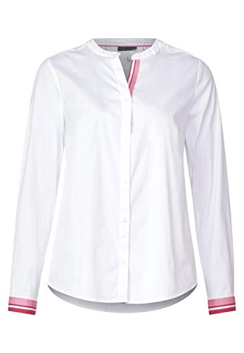 Street One blouse met rood accent in wit