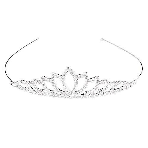 Newin Star Cristal de la Corona de los Aros del Pelo de...