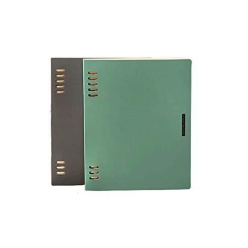 HJHJ Cuadernos Carpeta del Cuaderno A5 / B5, Premium Grueso Papel del Diario, el Caso de Office Business School, Enc Revistas, blocs de Notas