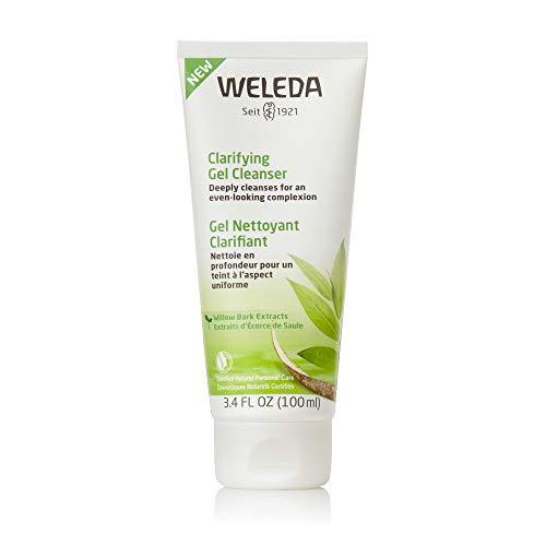 WELEDA Naturally Clear Klärendes Waschgel, Naturkosmetik bei Pickeln und unreiner Haut,...
