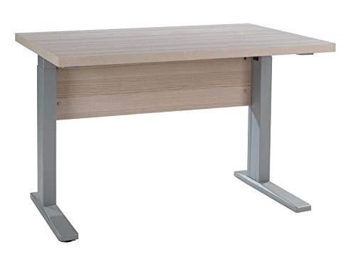 Schreibtisch Computertisch Arbeitstisch | Dekor | Coimbra Esche | Höhenverstellbar | 120x80 cm