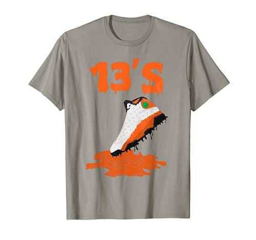 Retro 13 Starfish Shoe ripping 13's Sneaker T-Shirt