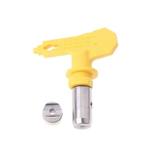 WNJ-TOOL, 1 PC 2/3/4/5/6 Serie Boquilla de Punta de rociado sin Aire for Titan Wagner Graco Pintura sin Aire Rociador for Edificios comerciales Spray (tamaño : 415)