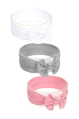 Hocaies Baby Haarband,Haarband Baby Stirnbänder Baby Mädchen baby stirnband mädchen haarbänder baby stirnband (04)