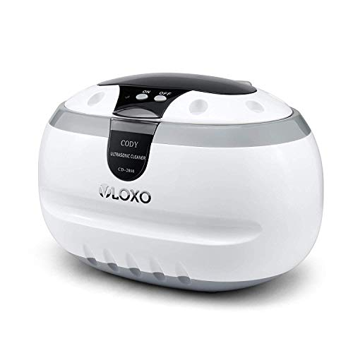 VLOXO Ultrasonic Cleaner Ultrasonic Jewellery Cleaner 600ml...