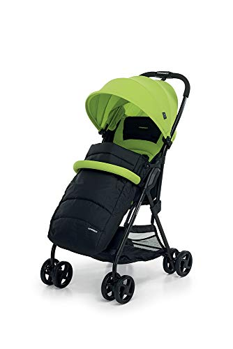 Foppapedretti Piùleggera Pushchair Sport Green Foppapedretti Lightweight stroller, suitable from birth, weighs only 3.6 kg - weight without accessories It is equipped with footrest and removable extendable hood with UPF 50+ sun protection (UV protection with 98% protection). Aluminium frame, folds flat for easy storage 5
