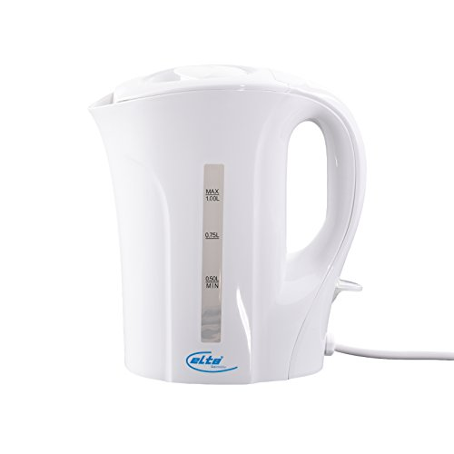 ELTA Wasserkocher 1 Liter WK-1000 Weiß