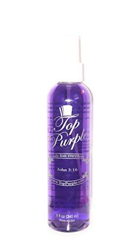 TOP Purple Jewelry and More Cleaner 8 Ounce