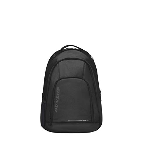 Dunlop Unisex-Adult 10282349 Tennis Backpack CX Team, Schwarz/Schwarz, One Size